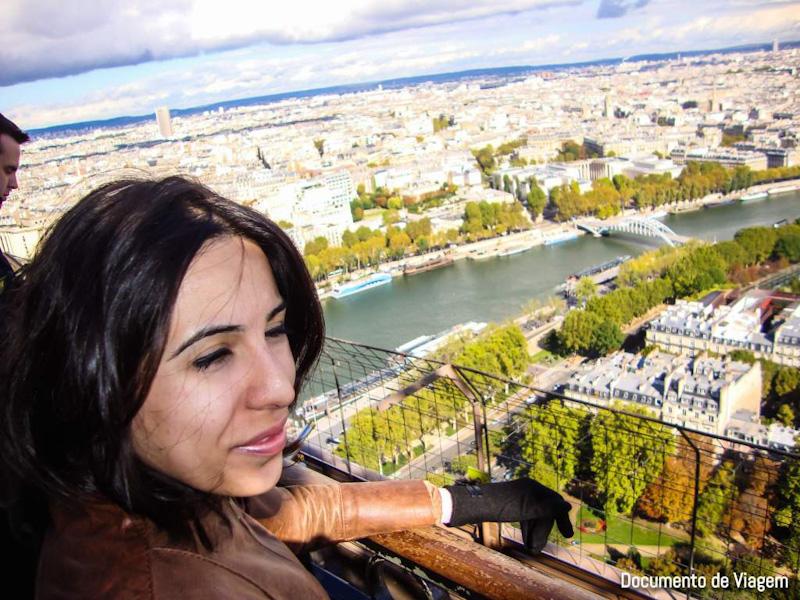 O que tem na Torre Eiffel