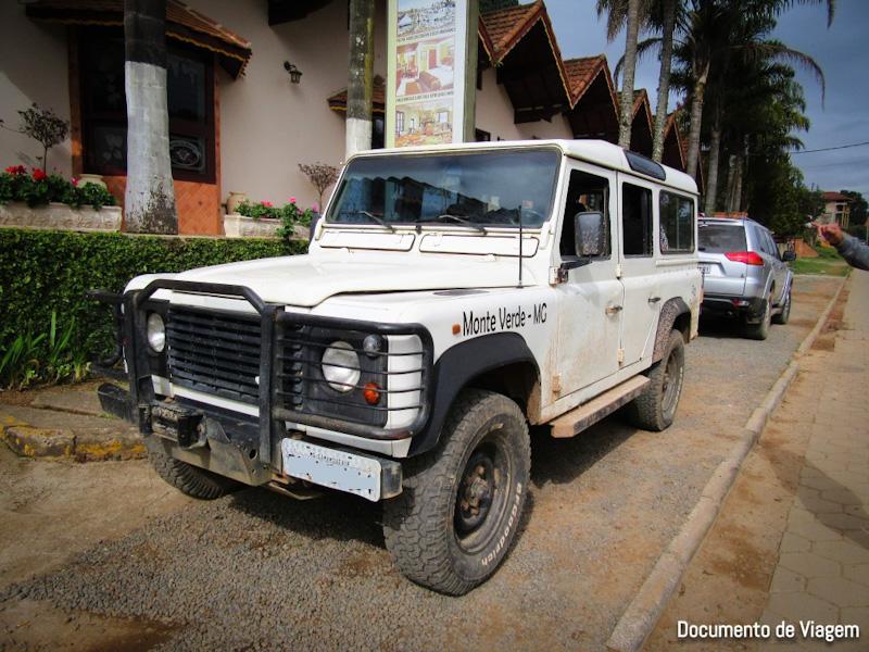 Veículo 4x4 Monte Verde