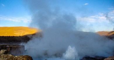 Gêiseres del Tátio Atacama