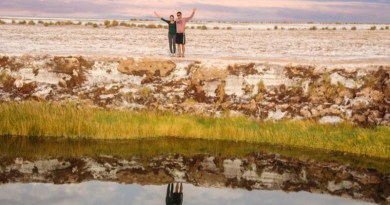 Ojos del Salar San Pedro do Atacama