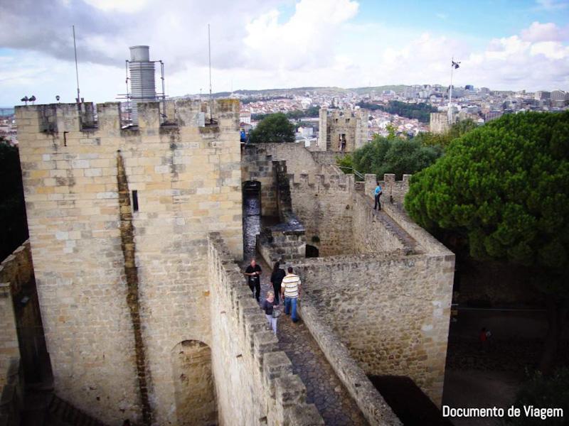 Como subir ao Castelo de São Jorge