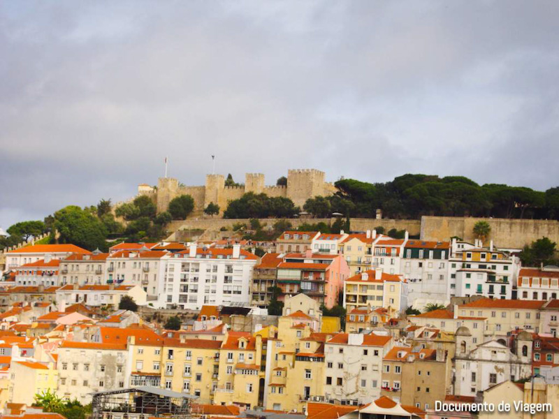 Castelo de São Jorge Miradouros Lisboa