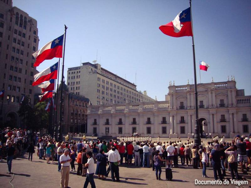Santiago do Chile onde fica