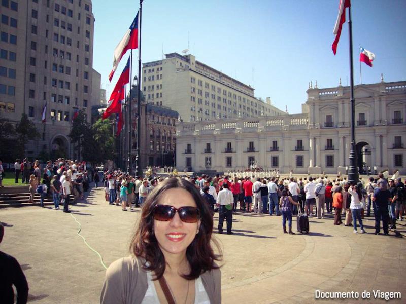 Palácio de la Moneda visita guiada