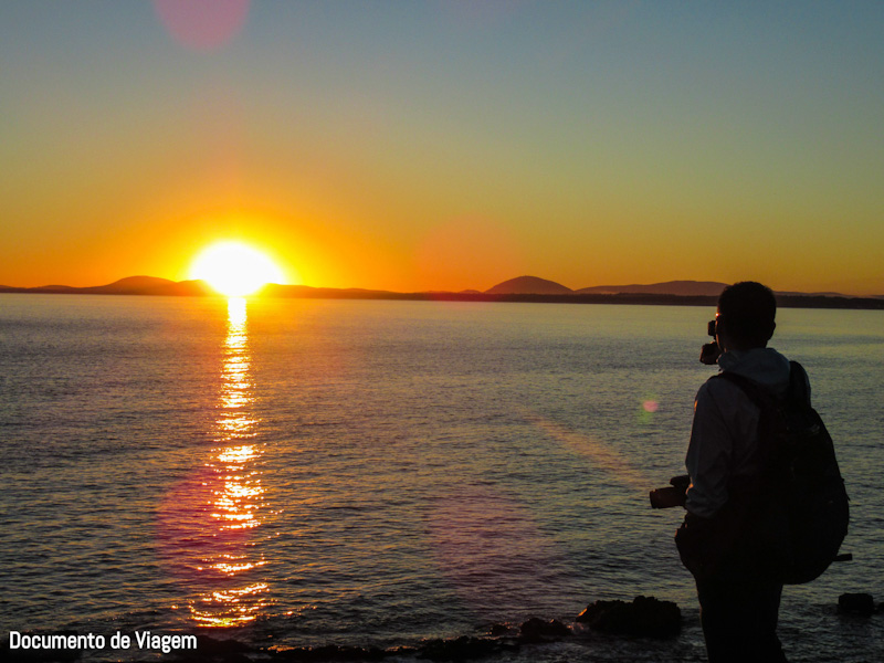 Punta Ballena pôr do Sol