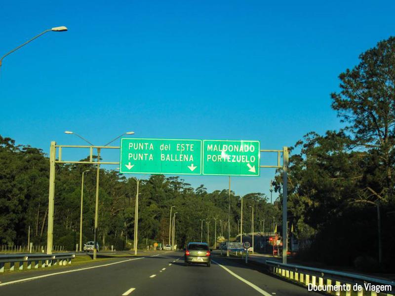 Como ir de Montevidéu para Punta del Este