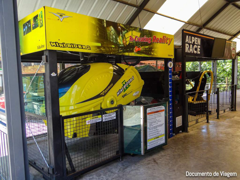 Alpen Park Simulador Mini Rider 2