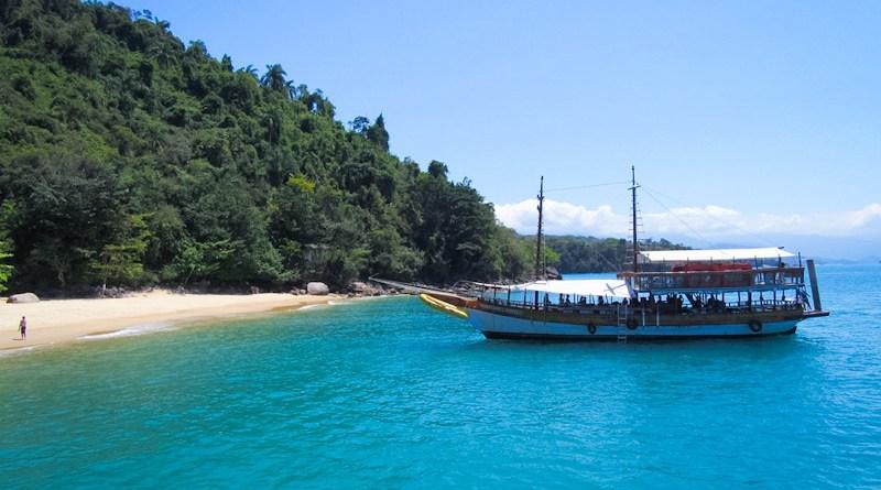 Passeio de barco Paraty