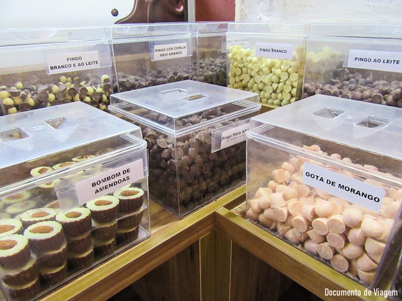 Chocolates em Monte Verde