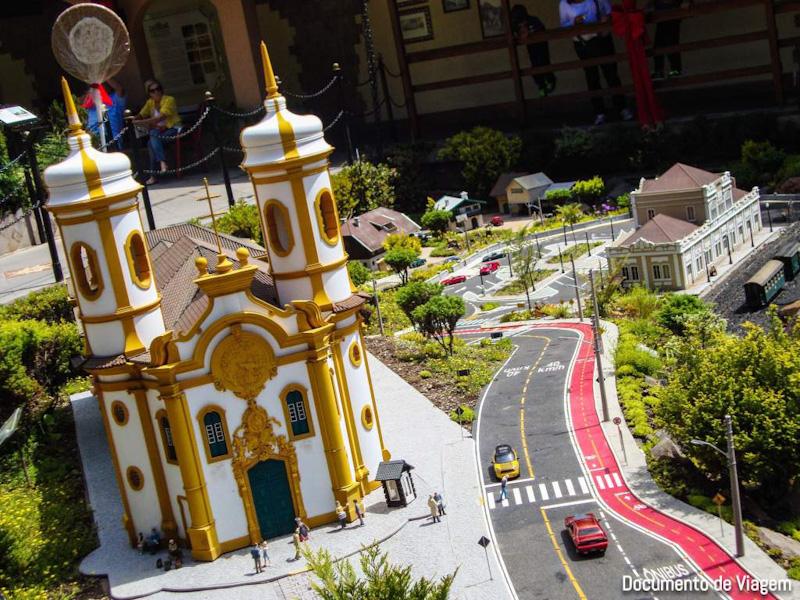 Igreja de Ouro Preto Mini Mundo