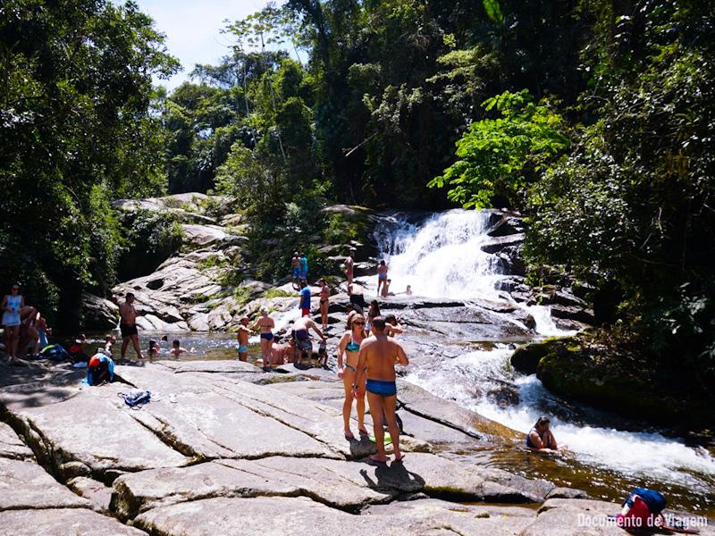 Cachoeira da Pedra Branca Paraty