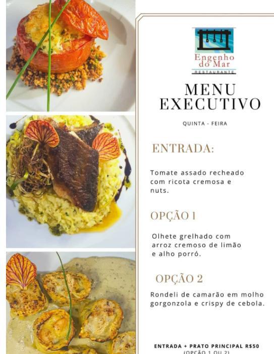 Restaurantes na Praia do Rosa