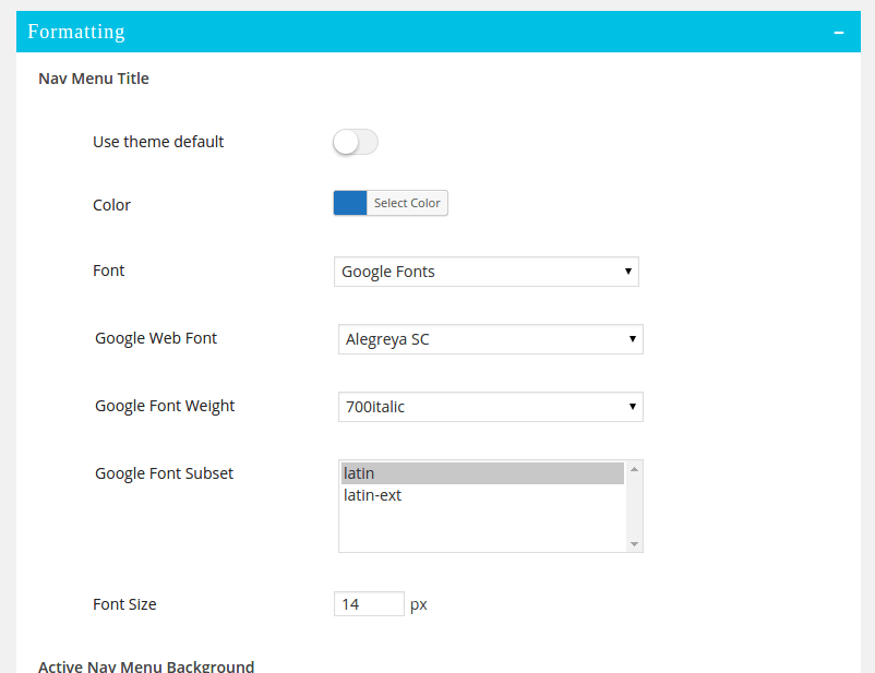 documentor_formatting