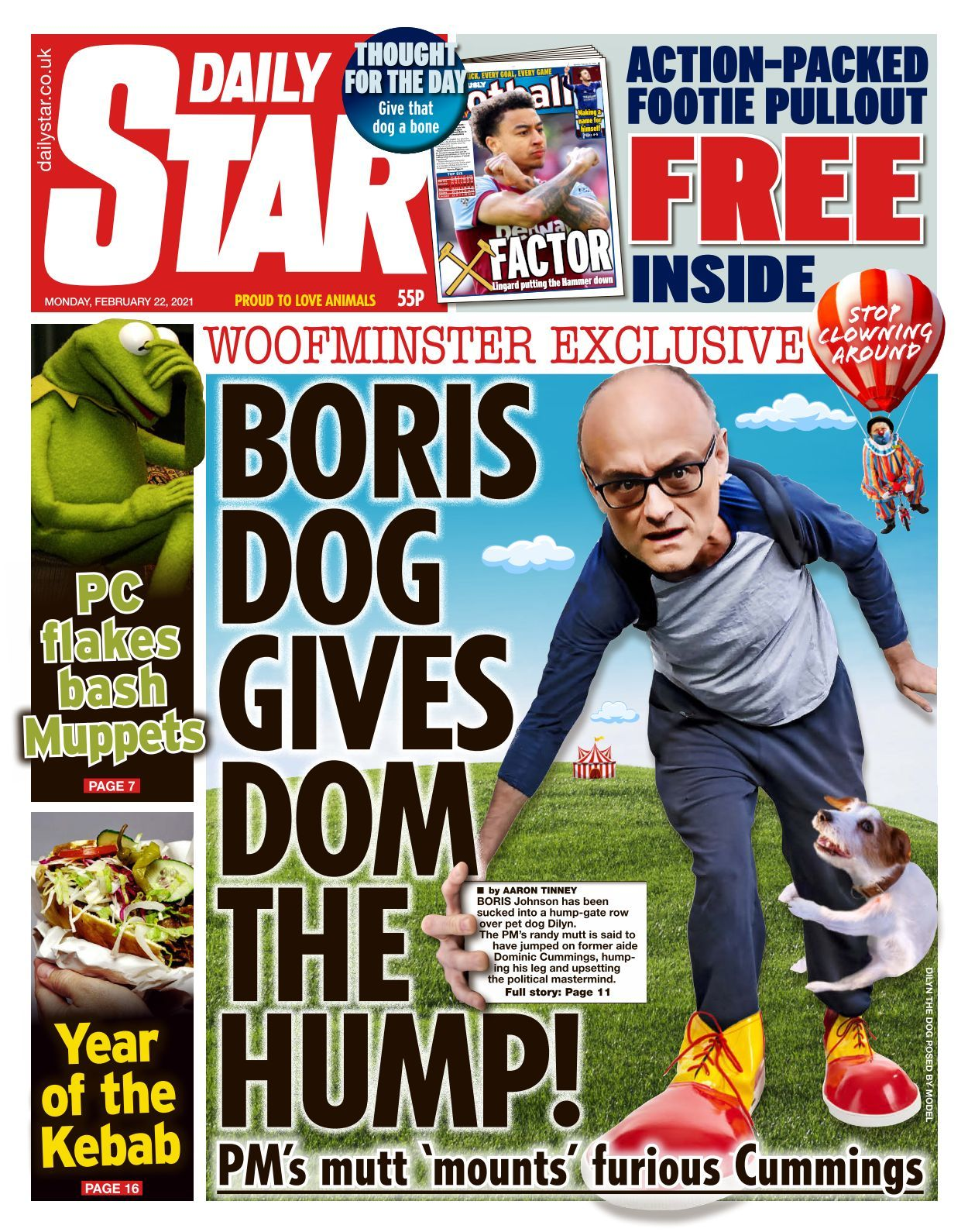 daily star 2021 02 22