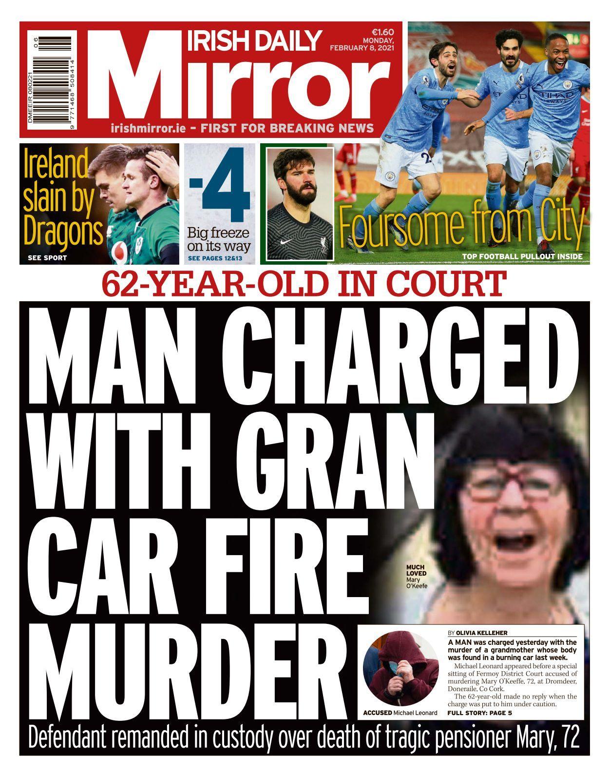 Irish Daily Mirror 2021 02 08