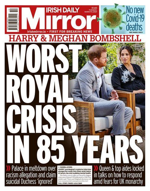 Irish Daily Mirror 2021 03 09