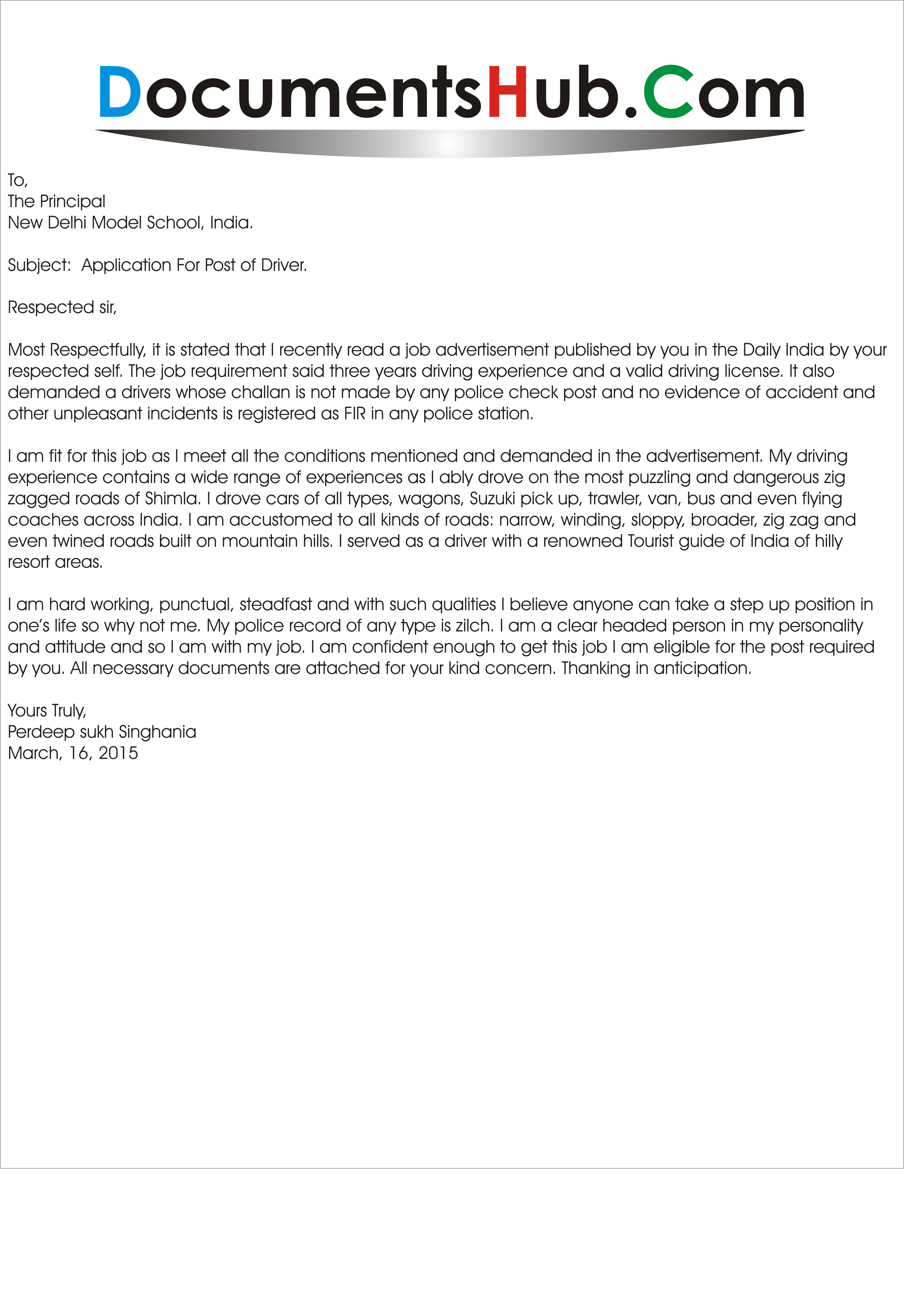 cover letter for delivery driver no experience sample resume ...