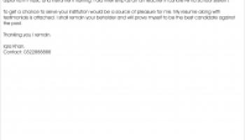 job application for primary school teacher documentshub com