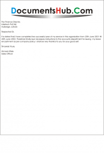Application for Annual Leave Encashment Template