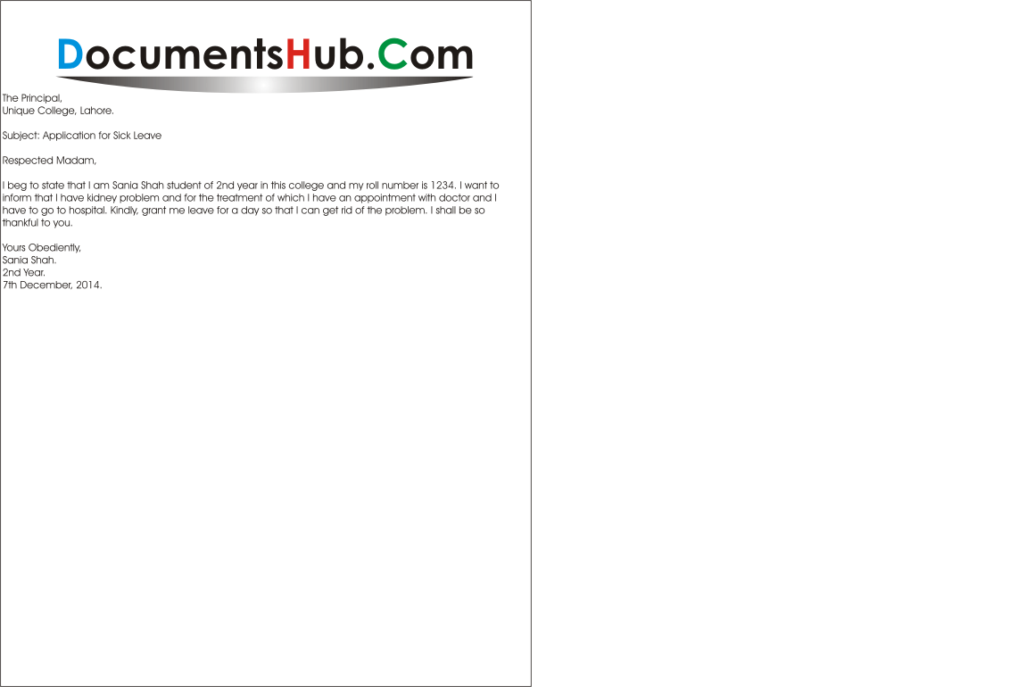 Leave Applications Archives Page 9 Of 12 Documentshub Com