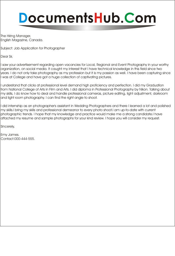 cover_letter_for_photographerpng - Cover Letter For Photography