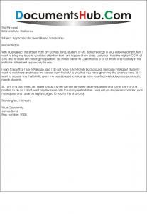 Need based scholarship essay