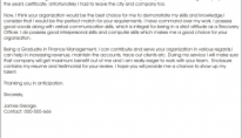 marketing cover letter sample by randal johnson   Writing Resume         Highly popular cover letter design that uses a pages white space to emphasise a candidates strongest