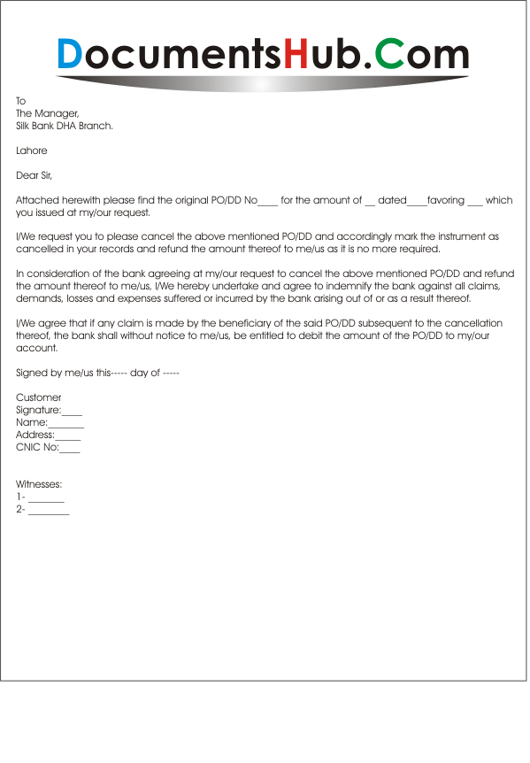 100 Credit Card Cancellation Letter Format
