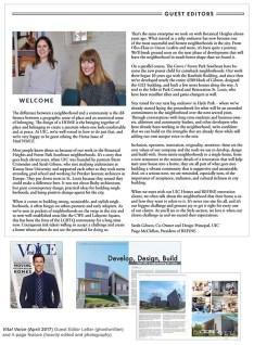 Guest Editor Profile, Vital Voice Magazine