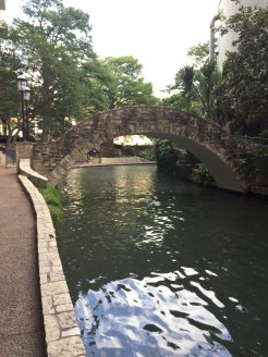 View of the San Antonio River Walk