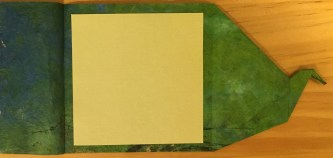 Origami card #1 (inside)