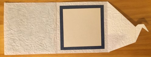 Origami card #2 (inside)