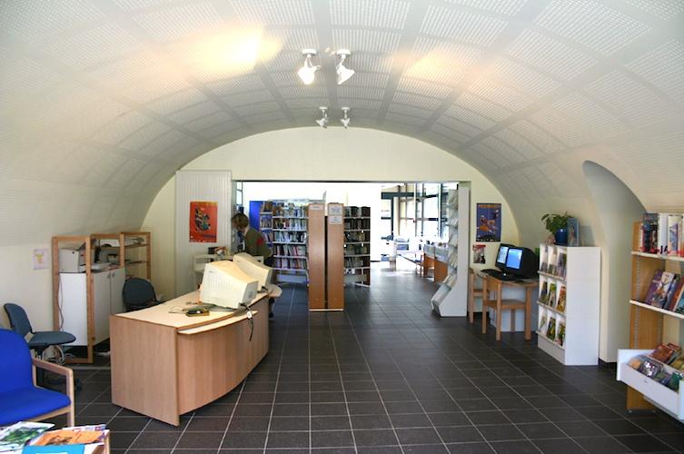 Bibliothèque Châtillon d'Azergues intérieur