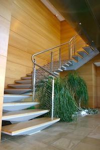 Bureaux CPB escalier