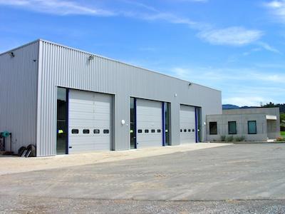 Bureaux HBTP hangar