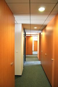 Bureaux Lyon CMS couloir