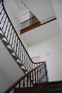 Cure Notre Dame Bellecombe escalier