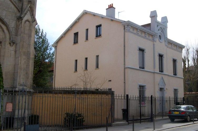 Cure Notre Dame Bellecombe façade