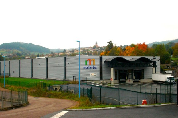 MALERBA usine n°8 Façade