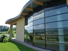 Salle polyvalente Propieres façade