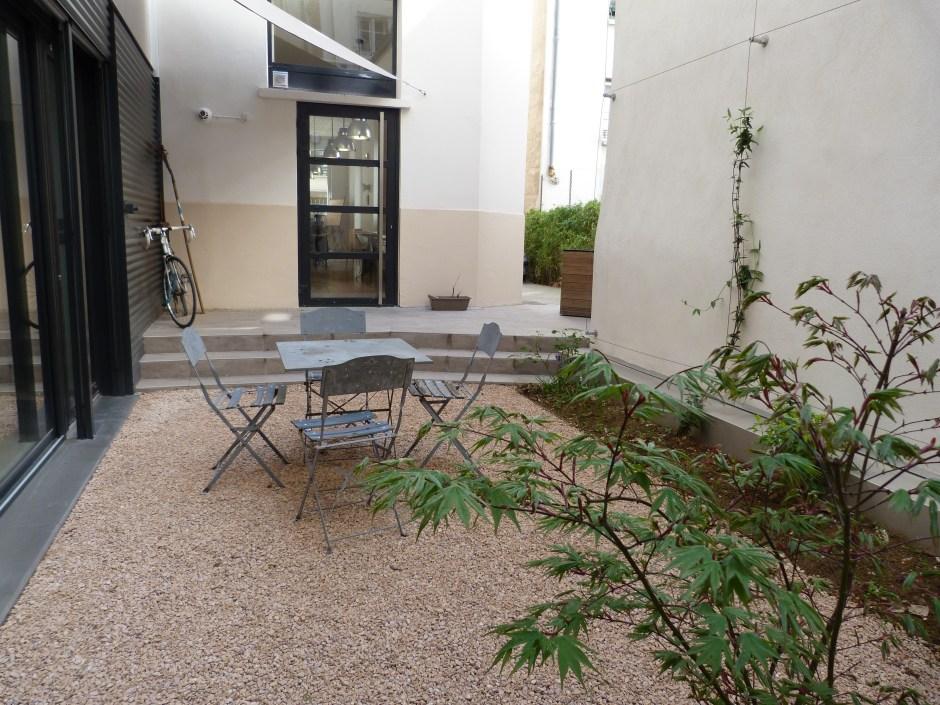 le jardin de l'agence