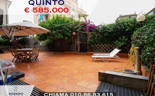 Genova Quinto con terrazzo
