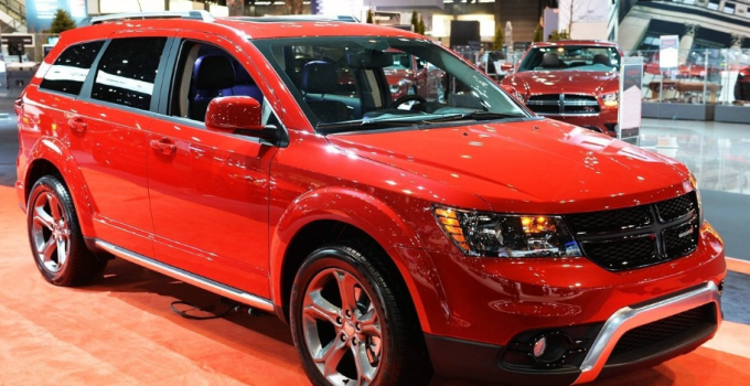 2019 Dodge Journey RT exterior