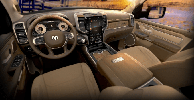 2019 Dodge Longhorn Interior