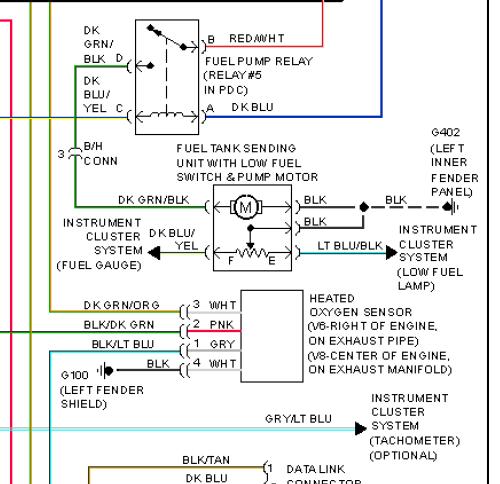 73964d1501355396 diy fuel pump or fuel gauge trouble shooting no dial up friendly dakota93_94_fuel system diagram?resize\\\=500%2C484\\\&ssl\\\=1 2000 dodge durango wiring diagram & isx engine diagram 2000 jeep 2000 dodge dakota wiring diagram at bakdesigns.co