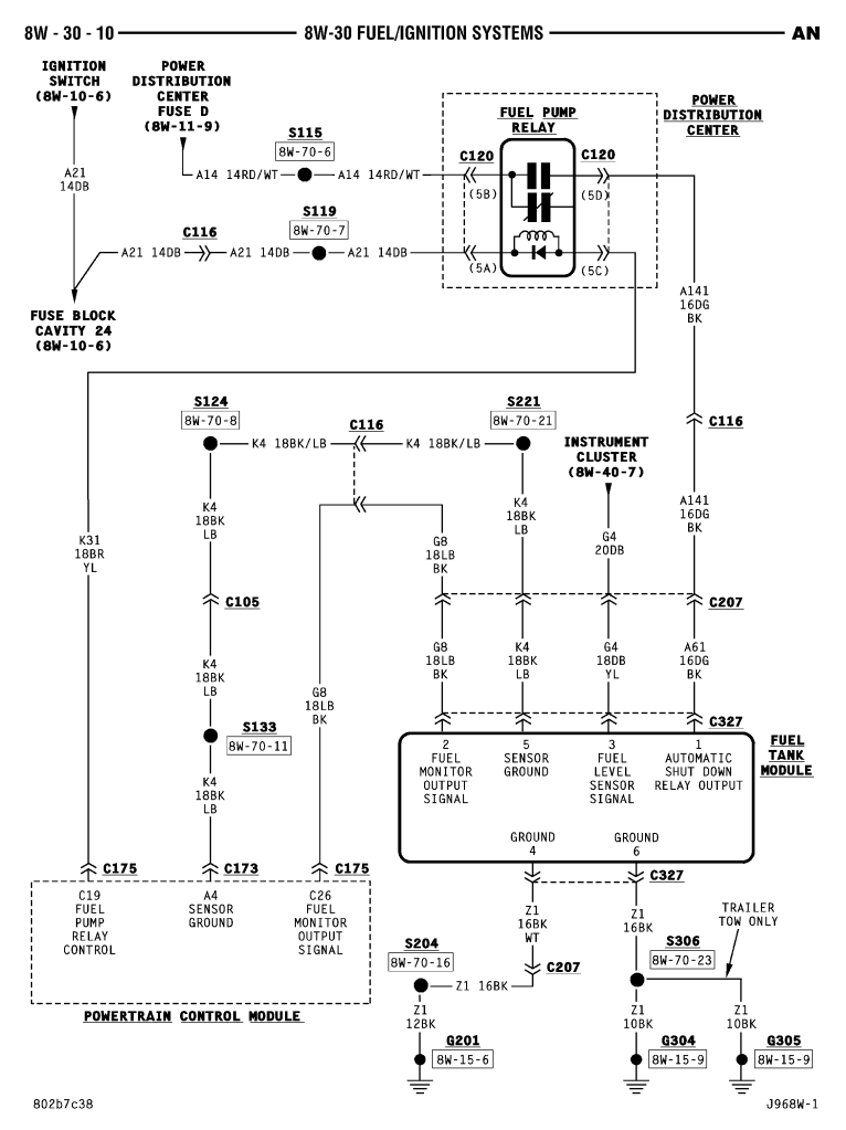 75133d1501357479 fuel pump not running voltage wiringdiagramfuelpump 1995 dodge ram wiring diagram wiring diagram byblank 1994 Dodge Ram 2500 at gsmportal.co