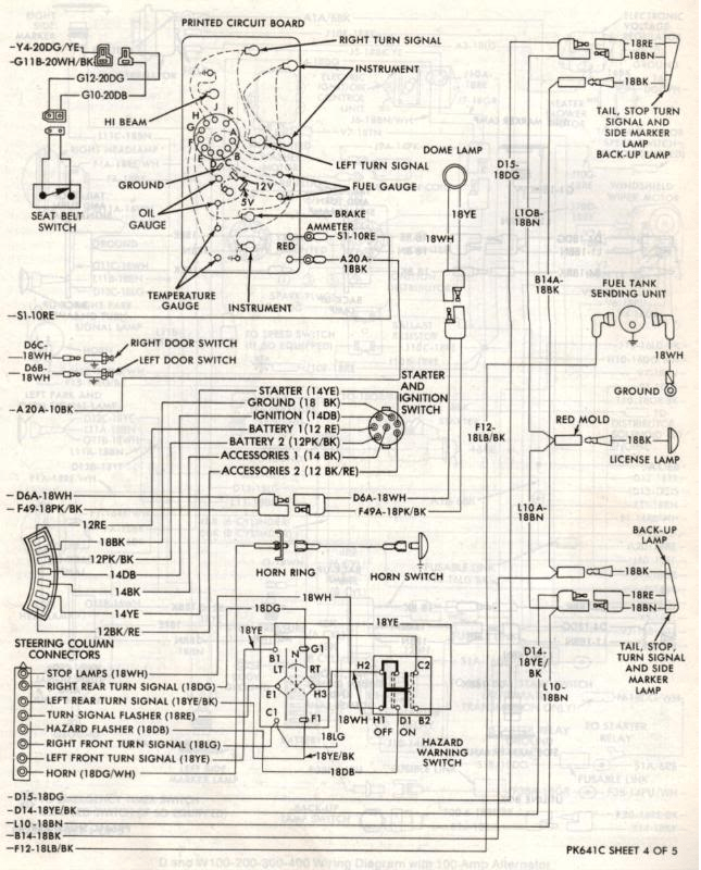 27093d1467864513 1st gen ram wire diagrams wiring diagram 4?resize\=645%2C800\&ssl\=1 1955 dodge truck wiring diagram wiring diagram simonand 1974 dodge truck wiring harness at reclaimingppi.co