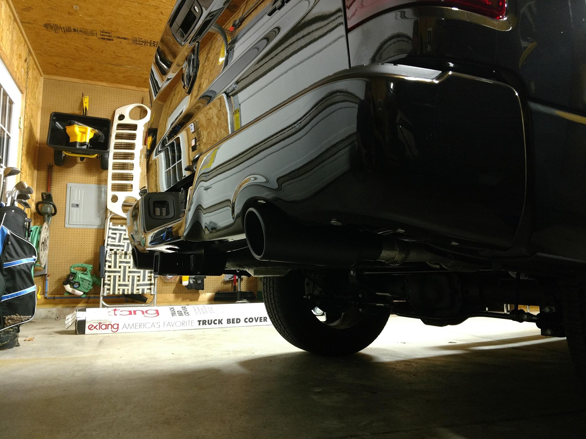 black exhaust tips dodgeforum com