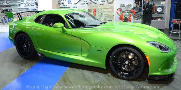 green viper side 600