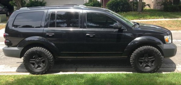 Cool Thread of the Day: Blacked Out 2nd Gen Dodge Durango